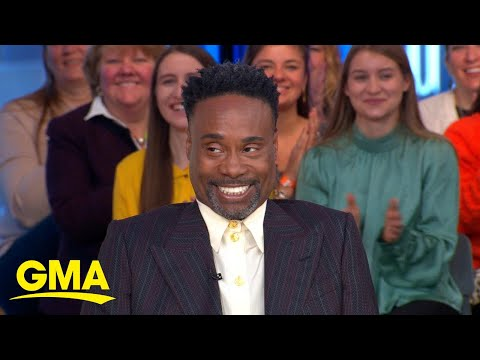 Billy Porter shares the inspiration behind his fierce Golden Globes look l GMA