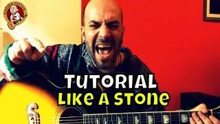 Como tocar LIKE A STONE de AUDIOSLAVE en GUITARRA ACÚSTICA | Tutorial FÁCIL para PRINCIPIANTES