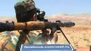 Сирийский спецназ ведет войну с армией снайперов