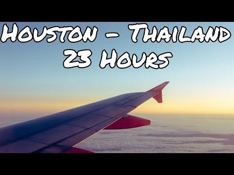 Thailand Travel Vlog Part 1: The Long Flight- SHRIMP AND EGGS FOR BREAKFAST?