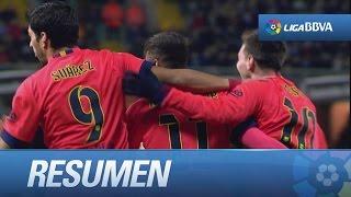 Resumen de Deportivo de la Corua 0-4 FC Barcelona