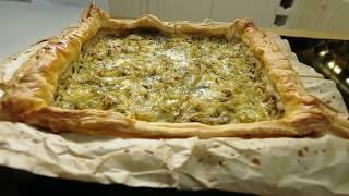Пирог с судаком и капустой. Выпечка. Русские пироги.