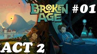 Broken Age Act 2 Walkthrough Part 1 - Shay