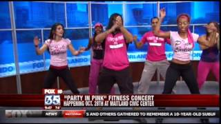 Fox 35 - Zumba - Party in Pink Thumbnail