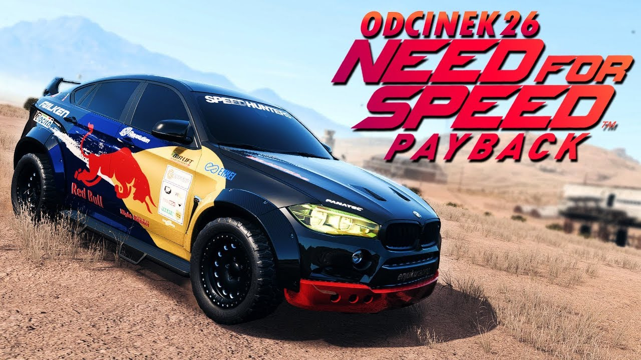 Need for Speed Payback PL (DUBBING) #26 – DAKAROWE BMW X6M! – PC 4K