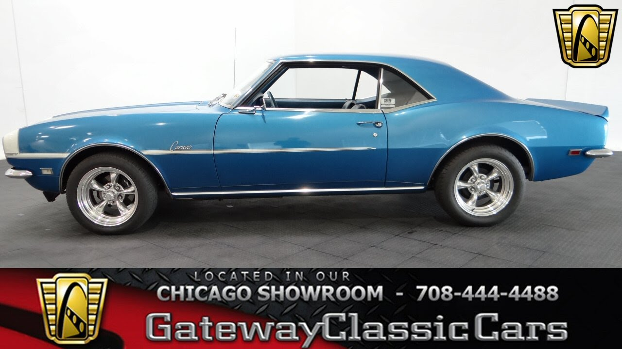 1968 Chevrolet Camaro Gateway Classic Cars #1022 - YouTube