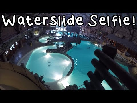 Swimming At Davy Crockett's Blue Springs Pool - Disneyland Paris 2017 Day 2   Vlog