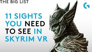 Skyrim VR - 11 sights you need to see
