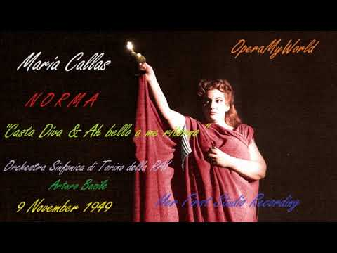 Maria Callas's First Studio Recording as Norma (1949) [LP Recording]
