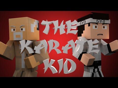 Minecraft Parody - KARATE KID! - (Minecraft Animation)
