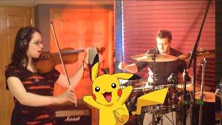Repeat youtube video Pokémon Dubstep Remix - Lindsey Stirling & Kurt Hugo Schneider - Violin/Drum Cover