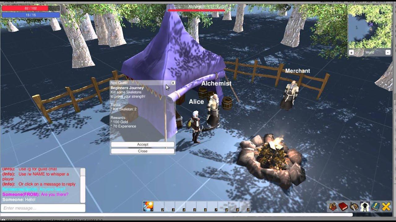 uMMORPG V1 5 - made with Unity & UNET