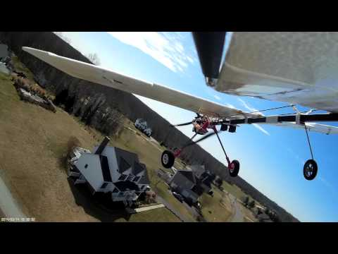 slow stick rc airplane aerial video shot from selfie stick on tail youtube. Black Bedroom Furniture Sets. Home Design Ideas