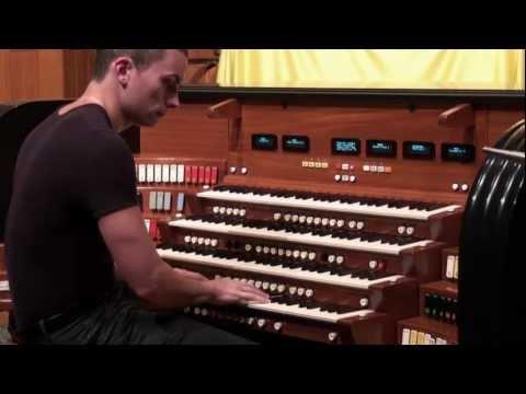 Cameron Carpenter Demonstrates M&O Opus 4 Pt. 1 (Orchestral)