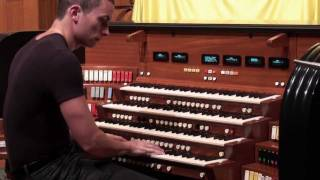 Cameron Carpenter Demonstrates M&O Opus 4 - Pt. 1 (Orchestral)