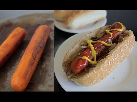 "These ""Carrot Dogs"" Are the Only Way You'll Ever Want to Eat Carrots Again"
