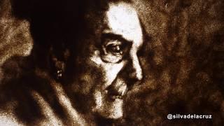 My Grandmother: Sand Quick Portrait.