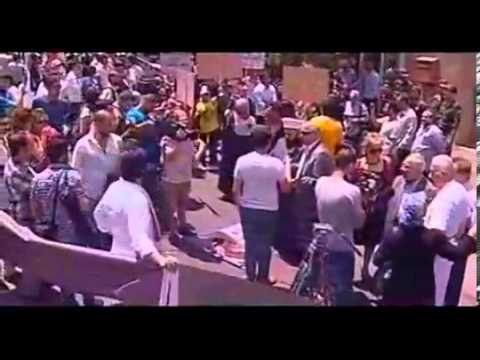 Türkiye Büyükelçiliği Önünde Kardeş Türk Halkıyla Dayanışma Eylemi 18 06 2013