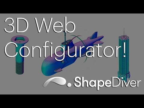 Introducing ShapeDiver (Parametric 3D Web Configurator)