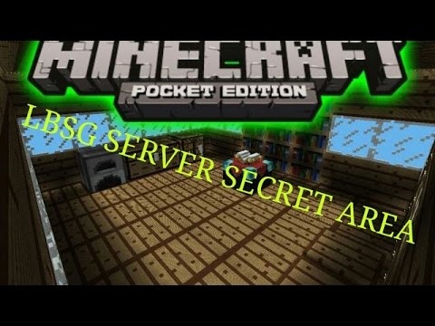 how to make a secret room in minecraft pe