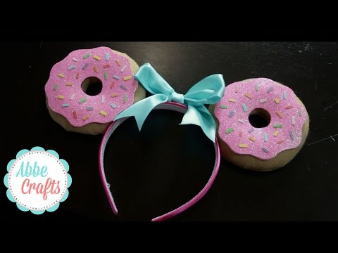 DIY Donut Ears