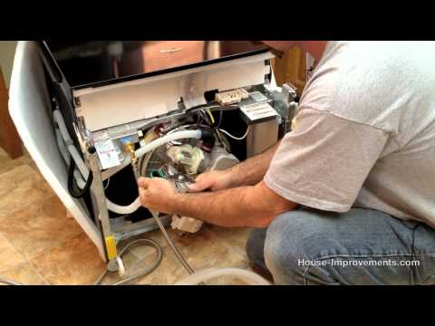 How To Replace or Install a Dishwasher