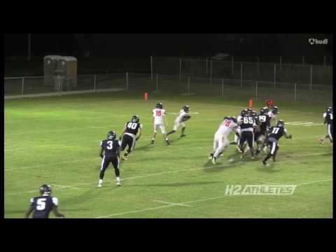 Alonzo Sampson - 2018 RB/LB - Zephyrhills Christian Academy (FL) - 2016 Season, JUNIOR YEAR