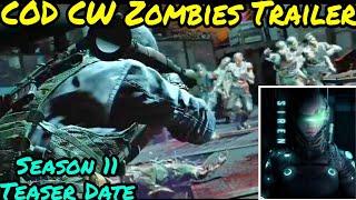 *Anniversary* Season 11 Trailer cod mobile | Zombie trailer cod BO Cold war
