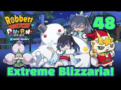 Yo-kai Watch Puni Puni #48: Extreme Blizzaria! Kirakoma Santa! Christmas Ohajiki! Robbett Watch
