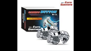 Euro Games R -11 Gaming Button Metal For Pubg And Shooting Games Unoxing (Hindi)
