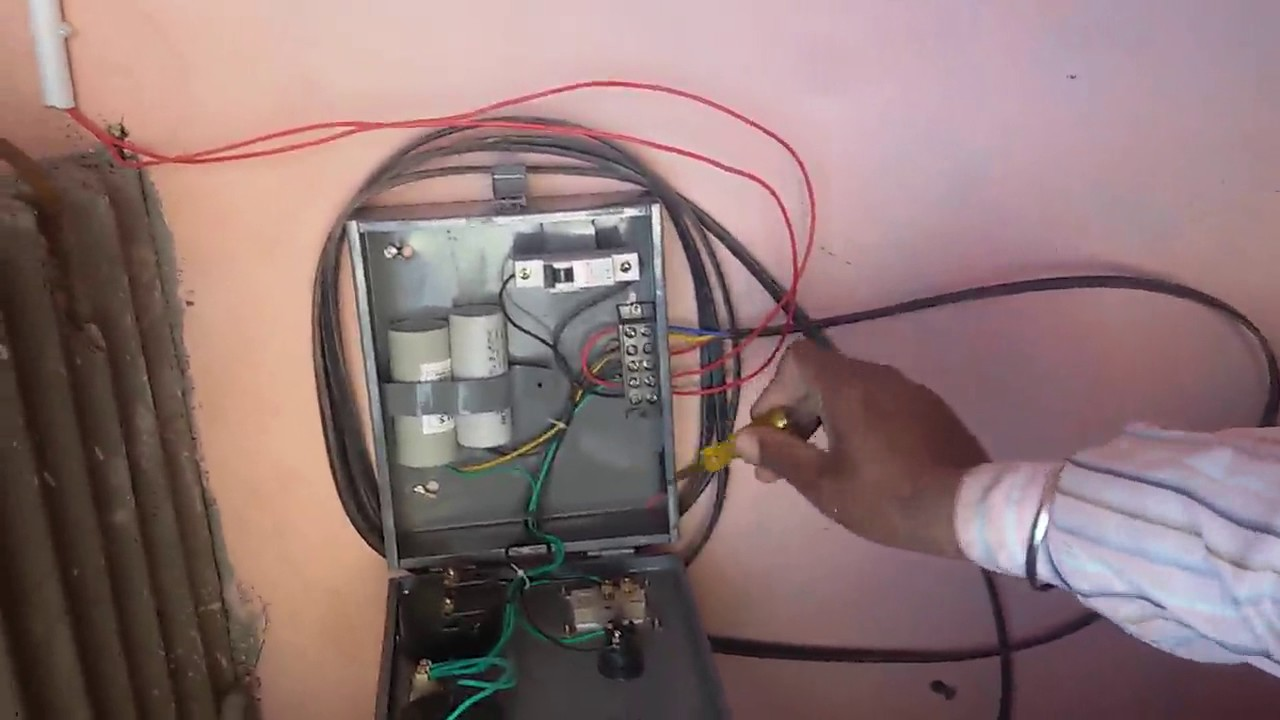 how to find default in submersible pump panel hindi  [ 1280 x 720 Pixel ]