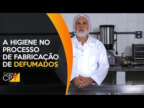 Clique e veja o vídeo Como é feita a higiene no processo de fabricação de defumados
