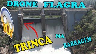 DRONE flagra TRINCO na BARRAGEM de PIRAPORA do BOM JESUS wanzam fpv