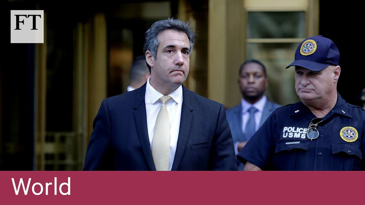 Former Trump lawyer Michael Cohen pleads guilty