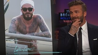 David Beckham Cleaned Up the Beard