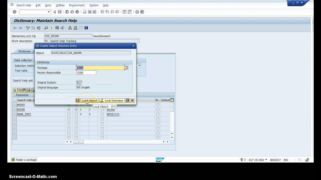 Download SAP F4 Search Help