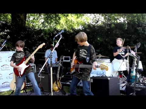 Amazing Kid Band Crushes Panama Van Halen Cover