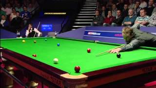 BBC Sport - World Snooker Championship Ali Carter fightback shocks Judd Trump
