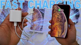 The Fast Charger Apple Should've Included With Their New iPhone XS