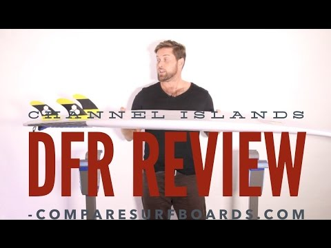 Channel Islands Surfboards DFR Review + Futures AM2 Fins no.133   Compare Surfboards