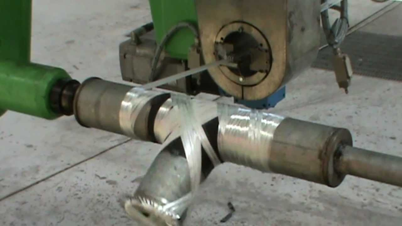 T Tee Winding Grp Gre Fittings Manufacturing Youtube