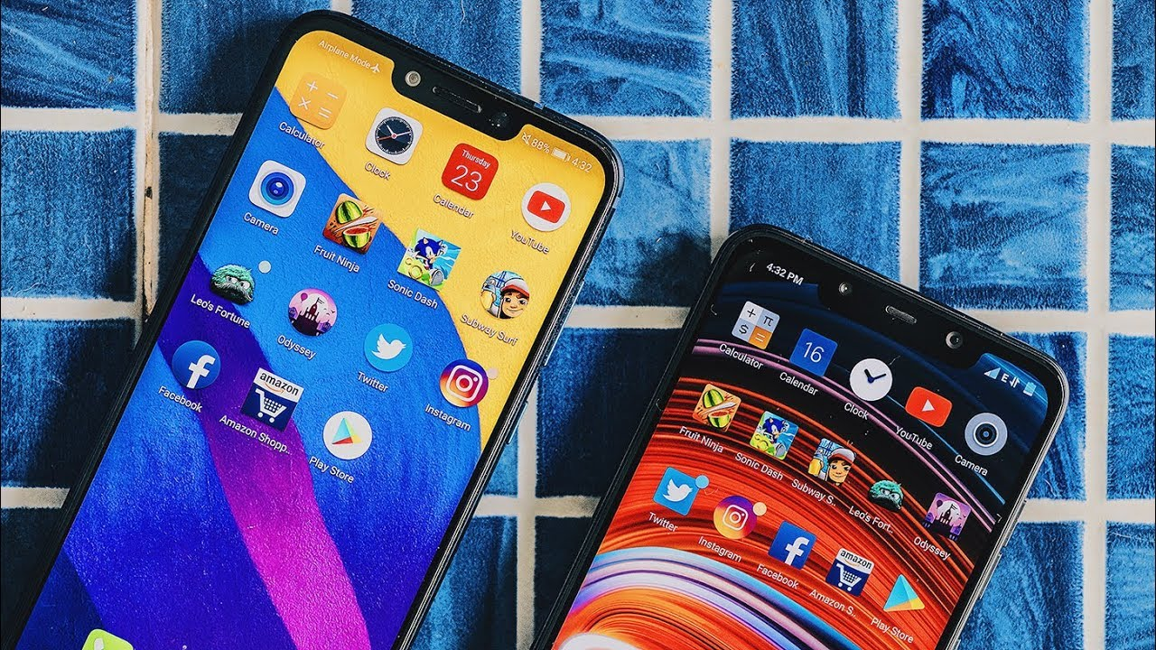 Poco F1 vs Honor Play Speed Test - The Nation Wants to Know