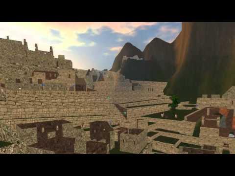Machu Picchu en Second Life Proyecto USMP1