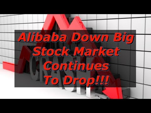 Alibaba's Falls To 15 Month Low After Slashed Price Targets! / Stock Market Continues To Bleed!