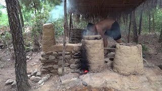 Primitive Life : Kiln furnace!