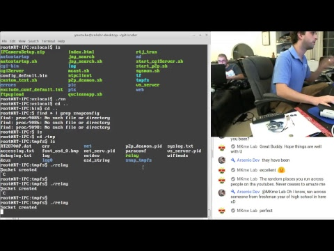 Hacking an SV3C Network Security Camera