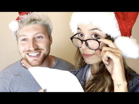 GUESSING EACH OTHERS CHRISTMAS LIST!! (under $100)