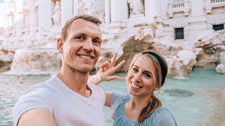 3 Jahre Weltreise • Unsere Gefühle • Trevi Brunnen Rom   VLOG #377