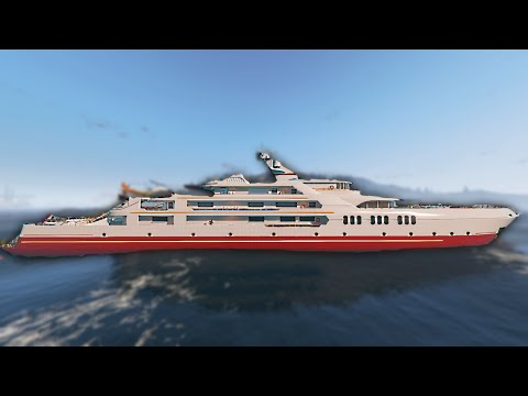 FULL UPGRADED BATTLE YACHT! (GTA 5 DLC Funny Moments)