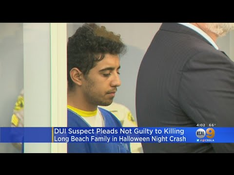 Man Pleads Not Guilty To Murder In Alleged DUI Crash That Killed Long Beach Family On Halloween
